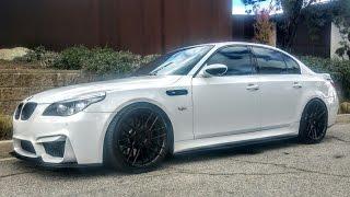 Modified & Bagged BMW E60 M5 SMG - One Take