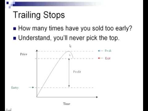 Using Stops Trailing Stops In Trading - Naijafy