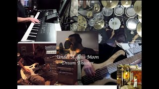 Under A Glass Moon - Dream Theater Split Screen Cover