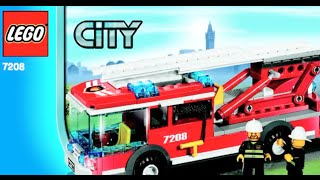 How To Build-LEGO City Fire Station : LEGO 7208- Instructions