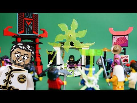 Vidéo LEGO Ninjago 71708 : Le marché des joueurs