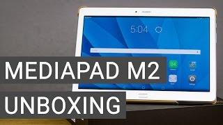 Huawei MediaPad M2 10.0 Unboxing + Erster Eindruck | Deutsch