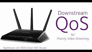 NETGEAR Nighthawk Buffer-Free Video Streaming using Dynamic QoS