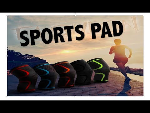 Running Cycling Knee Support Braces Elastic Nylon Sport Compression Knee Pad Aliexpress Unboxing