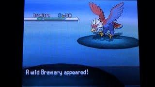 Braviary  - (Pokémon) - How to Catch Braviary - Pokemon Black and White