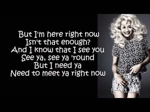 Rita Ora  Meet Ya Lyrics On Screen) - YouTube