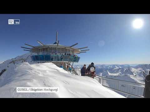 Skigebiet GURGL Winter 2020