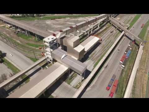 AGTL - Armazéns Gerais Terminal, nova linha de embarque