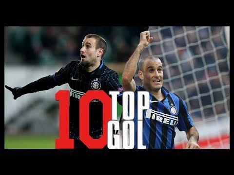 I 10 Gol più belli di Palacio con la maglia dell'Inter