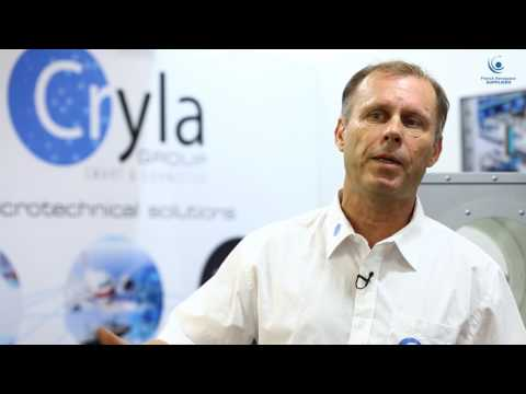 French Aerospace suppliers - Salon du bourget 2017 - CRYLA GROUP