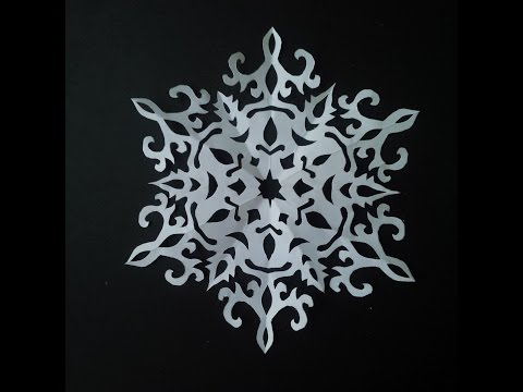 make paper snowflakes Gently unfold the paper to see your unique snowflake use poster putty to attach to windowpanes, or make a wreath of snowflakes by sticking them one at a time to a wall with poster putty.