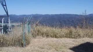 金峰山登山二ノ岳の風景山口県周南市