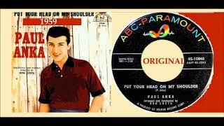 Paul Anka - Put Your Head On My Shoulder 'Vinyl'