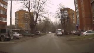 Опять машина призрак авто из ниоткуда теперь появилась в Екатеринбурге