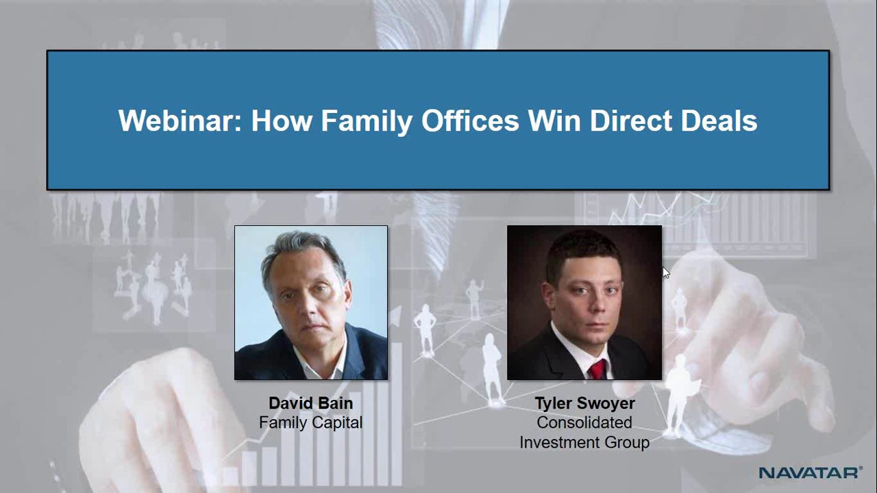 How Family Offices Win Direct Private Equity Deals