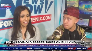 WOW: 13-Year-Old Rapper Frankie V Talks About Life in Phoenix and His Anti-Bullying Message (FNN)