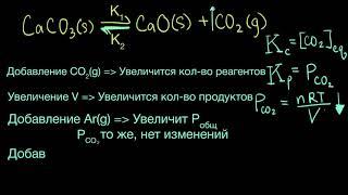 При́нцип Ле Шателье́. Пример | Химия