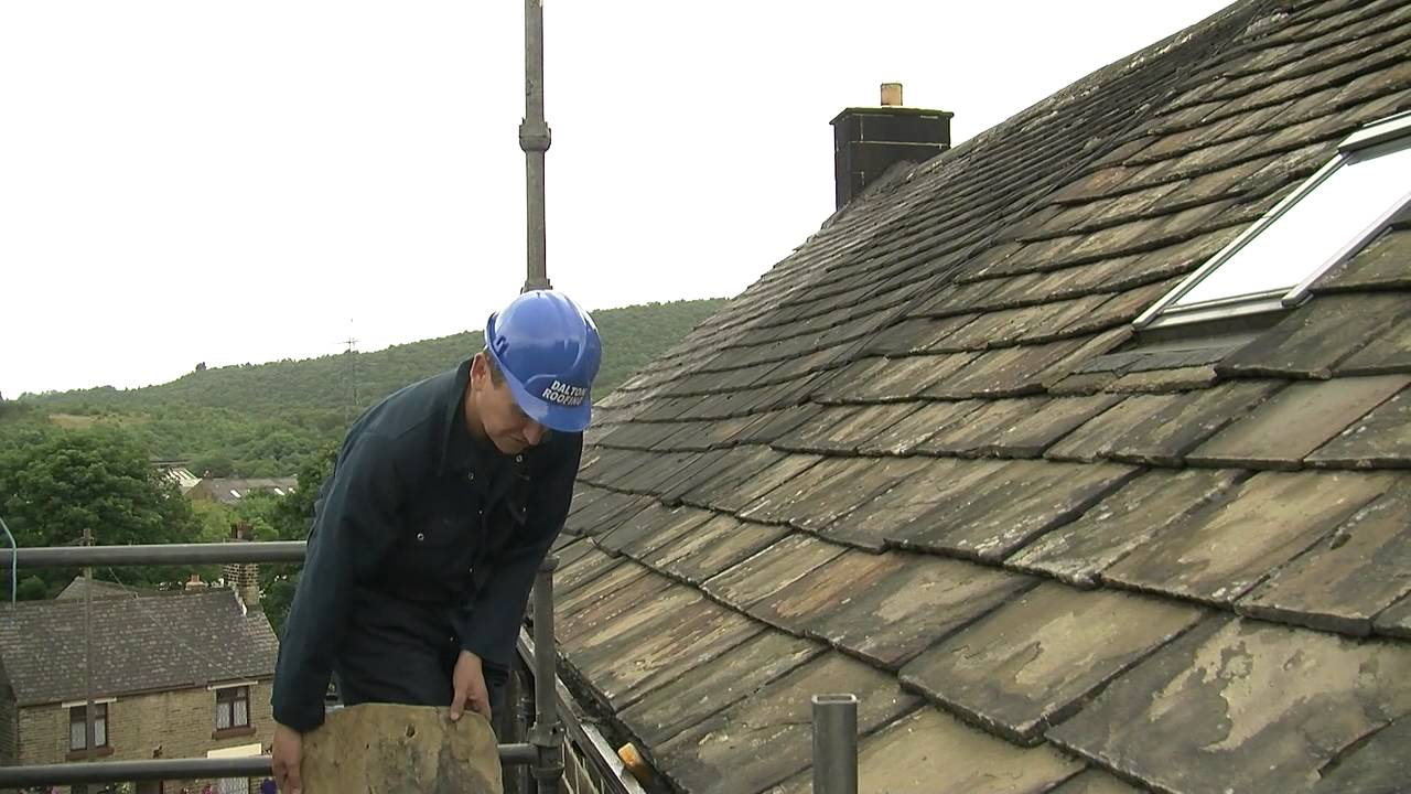 Stone roofs and measuring for a closure