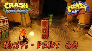 Crash Bandicoot 3 - N. Sane Trilogy - 105% Walkthrough, Part 32: Bug Lite (Box Gem)