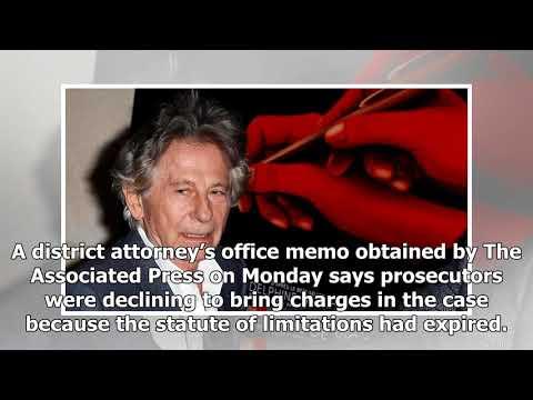 Prosecutors won't charge Roman Polanski after molestation report