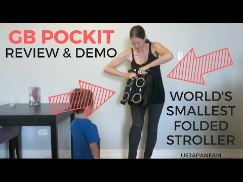 GB Pockit Stroller Review – The World's Smallest Folded Stroller!