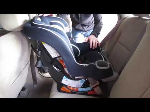 How To Install Graco Extend2Fit Convertible Car Seat Rear-Facing
