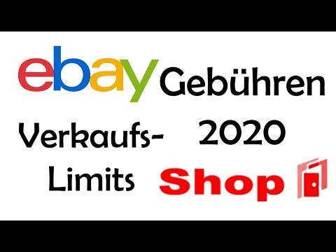 eBay Gebühren 2020 - Lohnt sich für dich ein eBay Shop ? [TEIL 5 / 6]