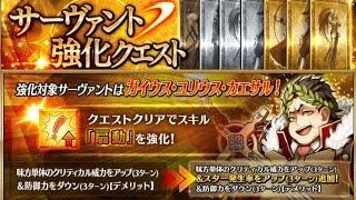 Gaius Julius Caesar  - (Fate/Grand Order) - 【Fate/Grand Order】スキル強化5弾 カエサルNewスキル+宝具【FGO】skill upgrade5 Julius Caesar NewSkill+Noble Phantasm