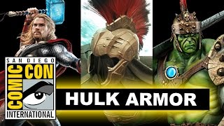 Planet Hulk Armor for Thor Ragnarok - Comic Con 2016