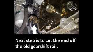 Installation of 6 speed gearbox kit into Audi A2