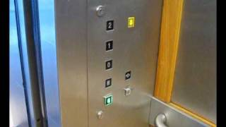 preview picture of video 'Tour of lifts at Orchard shopping center dartford'