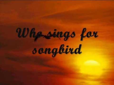 Songbird (lyrics) - Barbra Streisand