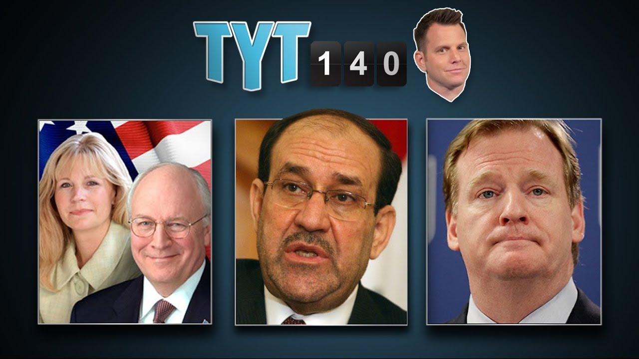 Iraq Airstrikes, Cheneys' Criticism, Redskins Trademark & Walmart Beater | TYT140 (June 19, 2014) thumbnail