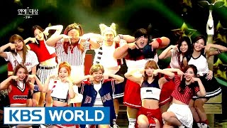 Congratulatory Performance - TWICE [2016 KBS Entertainment Awards/2016.12.27]