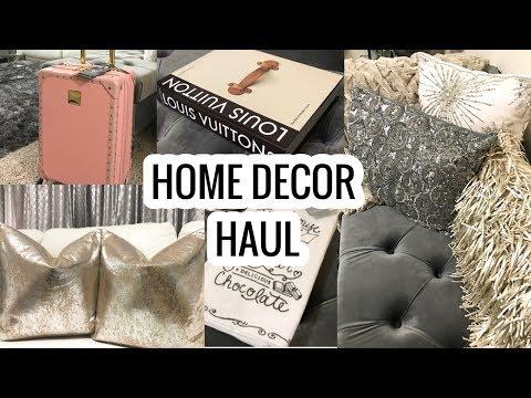 Home Decor Haul 2017   HomeGoods, Marshalls, T.J.MAXX Haul