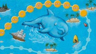 Tasty Blue #4 ОХОТА НА ЗУБАСТИКА и ПОБЕГ ДЕЛЬФИНА Мультяшная игра про РЫБКУ ОБЖОРУ
