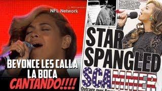 Beyonce Les Calla la Boca a Todos Cantando!!!!!