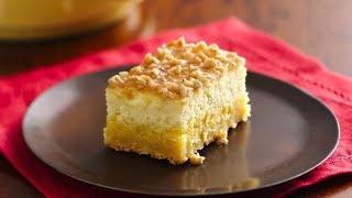 Crème Brûlée Cheesecake Bars | Betty Crocker Recipe