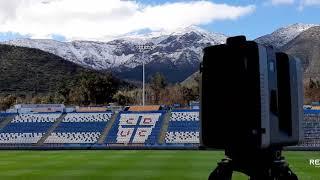 Estadio San Carlos de Apoquindo con Leica RTC360