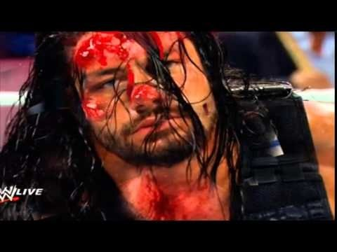 Download Most Brutal & Dangerous Fight in WWE History! Reigns vs Triple H! Bloddy Match! HD HD Mp4 3GP Video and MP3