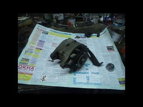Ремонт генератора 2109. Замена подшипников.
