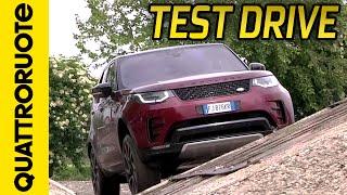 Nuova Land Rover Discovery: prova su strada con Paolo Massai   Quattroruote