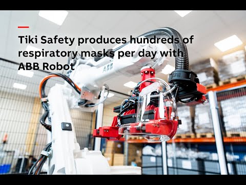 ABB Robotics Works With TikiSafety on Protective Masks