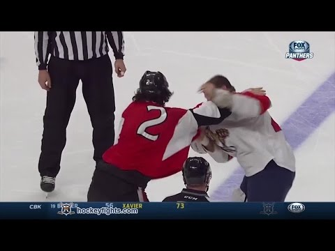Jared Cowen vs. Shawn Thornton