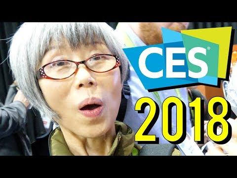 Weird & Cool Tech ♦ CES 2018 (видео)
