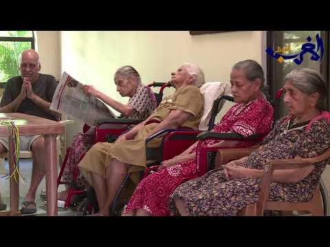 العرب اليوم - شاهد: دار مسنين في الهند تقوم برعاية كبار السن والأبقار معًا
