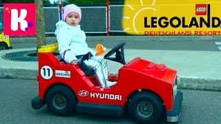 Германия #17 Леголенд парк аттракционов/ Катя выиграла игрушку кошечку/ Legoland Germany