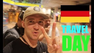 AMERICANS travel to NORTH GERMANY! (HAMBURG Travel Day)