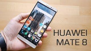 Обзор Huawei Mate 8: распаковка и  экран