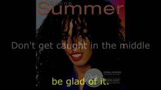 "Donna Summer - (If It) Hurts Just a Little LYRICS SHM ""Donna Summer"" 1982"